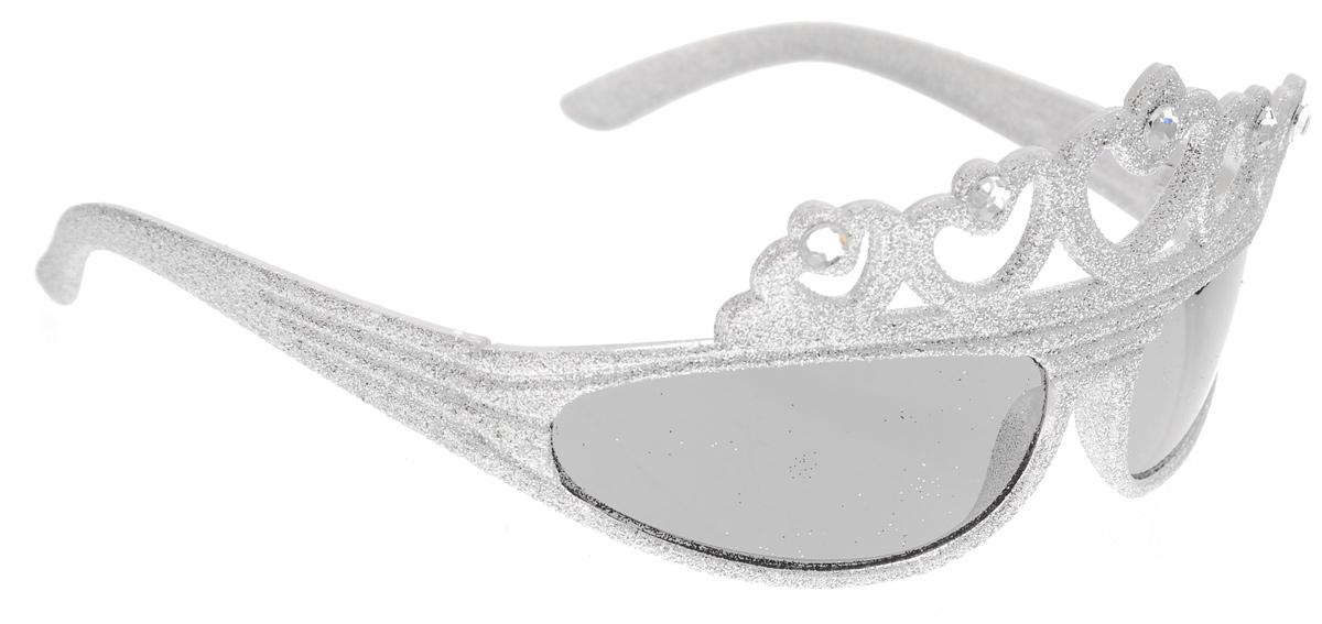 Очки карнавальные Феникс-Презент Принцесса31136Карнавальные очки Феникс-Презент Принцесса, выполненные из пластика, декорированы блестками и стразами. Они отлично дополнят ваш маскарадный костюм и помогут создать яркий образ. Очки предназначены для быстрого и необременительного перевоплощения на костюмированной вечеринке или маскараде. Сделайте свой праздник веселым и ярким!