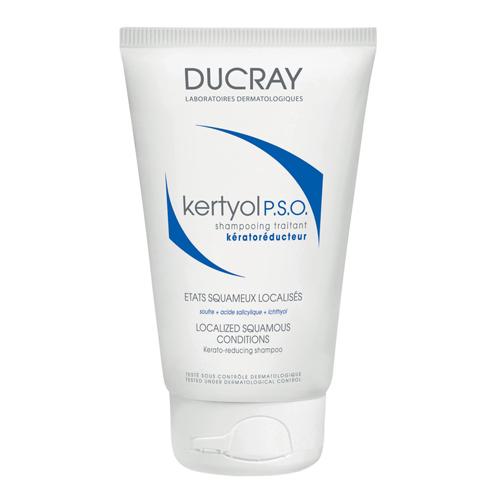 Ducray P.S.O. Шампунь Keracnyl уменьшающий шелушение кожи головы 125 млC29349Шампунь, уменьшающий шелушения кожи головы Кертиоль P.S.O. эффективно устраняет факторы, провоцирующие образование участков гиперкератоза волосистой части головы. Уменьшает бляшки, снимает зуд, покраснение и шелушение за счет входящего в состав уникального комплекса компонентов. Салициловая и гликолевая кислоты - активные кераторедукторы, способствующие устранению чашуек. Оказывают кераторегулирующее действие и регулируют пролиферацию кератиноцитов. Рекомендован при таких заболеваниях, как хронические рецидивирующие состояния любой перхоти, себорейный дерматит кожи головы, псориаз кожи головы. Помогает при хронических и рецидивирующих состояниях перхоти в виде пластинчатого шелушения, при значительных очагах перхоти, покрытых крупными чешуйками. Эффективность: - Снимает зуд 68%* - Устраняет шелушение 35% * - Уменьшает покраснение 33% * * В исследовании приняли участие 60 человек с чешуйчатым отслоением кожи. % улучшения отмечен дерматологом после 6 недель использования 3 раза в...