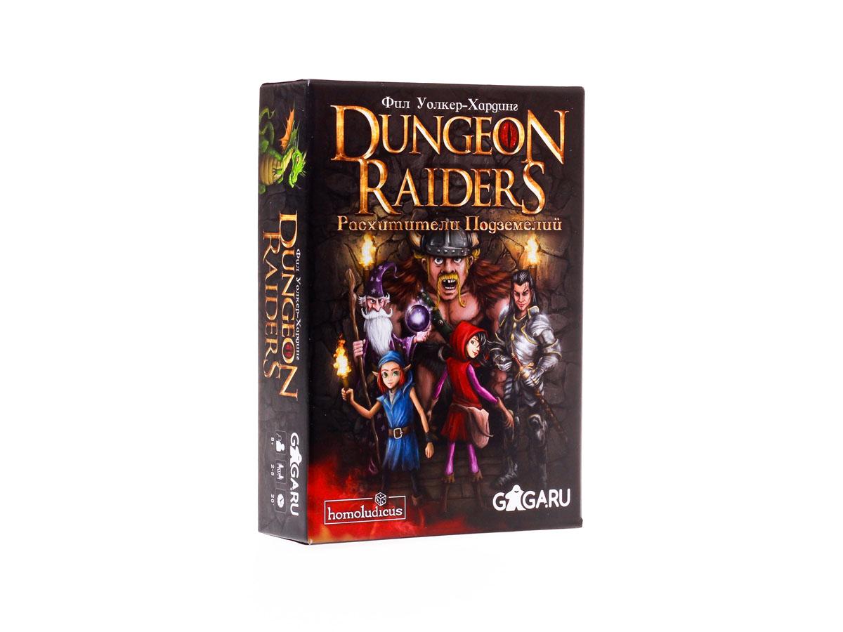 Настольная игра GaGa Расхитители Подземелий (Dungeon Raiders)УТ-00003123