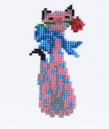 Набор для вышивания бисером Бисеринка Мяу, 6 х 11 см549641Набор для вышивания Бисеринка Мяу поможет вам создать свой личный шедевр - красивую картину, вышитую бисером на канве. Вышивание отвлечет вас от повседневных забот и превратится в увлекательное занятие! Работа, сделанная своими руками, создаст особый уют и атмосферу в доме и долгие годы будет радовать вас и ваших близких, а подарок, выполненный собственноручно, станет самым ценным для друзей и знакомых. Набор содержит: - бисер Preciosa Ornels (Чехия), - ткань (габардин) с нанесенным цветным рисунком-схемой, - игла, - инструкция на русском языке.