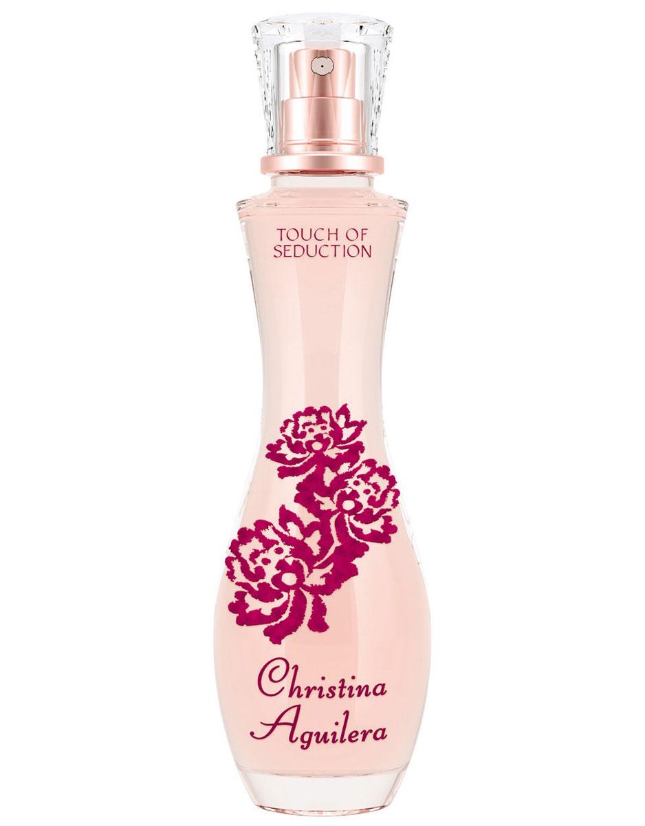 Christina Aguilera Touch Of Seduction Парфюмерная вода женская 30 мл0737052979281ЧУВСТВЕННЫЙ и ТЕПЛЫЙ аромат пробуждает глубинную СТРАСТЬ подобно бархатным лепесткам розы Christina Aguilera – это СЕКСУАЛЬНЫЙ бренд, отражающий ГЛАМУРНЫЙ винтажный стиль самой Кристины ВОСТОЧНЫЙ Цветочный Личи Сахарная роза Сандаловое дерево