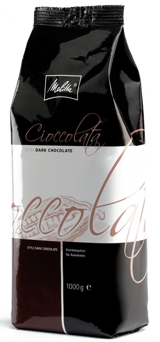 Melitta Cioccolata Dark молочно-шоколадный порошок, 1 кг1122