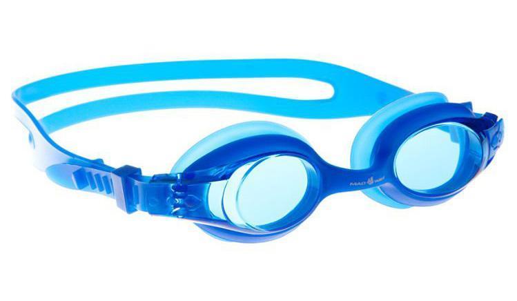 M0419 03 0 03W Очки для плавания юниорские Stalker, Blue
