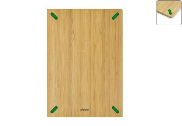 Разделочная доска из бамбука Nadoba Stana, 33 ? 23 см. 722011722011Не скользит по столешнице. Натуральный бамбук, противоскользящие резиновые вставки. Гарантия 3 года.