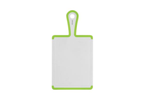 Пластиковая разделочная доска Nadoba Oktavia, 35?18 см . 722215722215Не скользит по столешнице. Прочный, не впитывающий запахи пластик с противоскользящими резиновыми вставками. Гарантия 3 года.