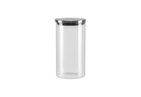 Ёмкость для хранения Nadoba Silvana, 1 л . 741411741411Герметичная крышка из нержавеющей стали. Прозрачное боросиликатное стекло. Гарантия 5 лет.