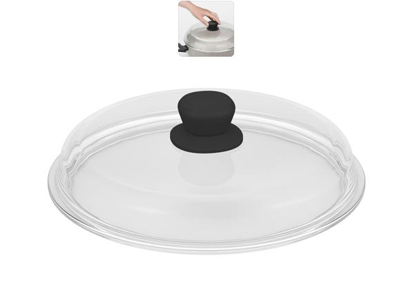Крышка из боросиликатного стекла Nadoba Gela, диаметр 28 см