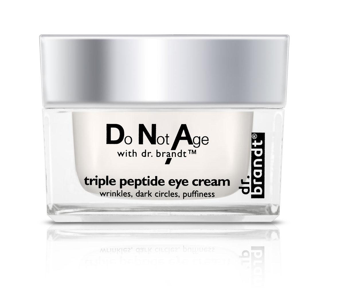 Dr. Brandt Интенсивно-омолаживающий крем для глаз с трипептидом от припухлости и темных кругов, 15 г100423СИЛА МОЛОДОСТИ ДЛЯ ВАШИХ ГЛАЗ! Интенсивный антивозрастной крем для кожи вокруг глаз с мощным эксклюзивным комплексом с трипептидом обеспечивает сияющий и молодой вид Ваших глаз. Крем эффективно решает все задачи ухода за деликатной областью: укрепляет, увлажняет, разглаживает, подтягивает кожу, устраняет припухлости и темные круги под глазами.