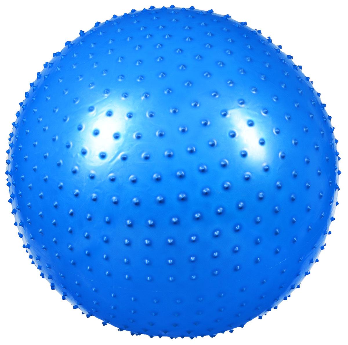 """Ironmaster Мяч гимнастический """"Ironmaster"""", массажный, цвет: синий, 75 см. IR97404"""