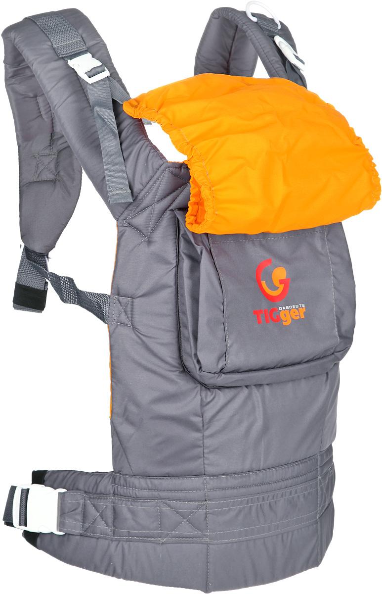TIGger Слинг-рюкзак Tigger с капюшоном цвет серый желтый1107.04_серый, желтыйСлинг-рюкзак TIGger Tigger - многофункциональная, практичная и удобная переноска для ношения ребенка от 4 месяцев. Благодаря слингу-рюкзаку, вы сможете всюду быть рядом с малышом, не отвлекаясь от важных дел. Слинг-рюкзак TIGger Tigger обеспечивает физиологически правильное положение ребенка и является безопасным для переноски детей. Высокая спинка удобна и комфортна для различного возраста. Простая и удобная регулировка лямок обеспечивает удобство использования. Регулируемый пояс для поддержки спины родителя и широкие лямки с набивкой снижают нагрузку на спину. На спинке рюкзака имеется большой карман для необходимых мелочей. Удобный капюшон, защищающий от ветра и осадков, компктно скручивается и фиксируется. Также на рюкзаке имеется соединительная стропа для быстрого одевания и безопасной посадки ребенка. Натуральные безопасные материалы предотвращают раздражение кожи малыша. Три положения: к себе, на бедре, за спиной. Рекомендуется использовать с 4-х месяцев,...