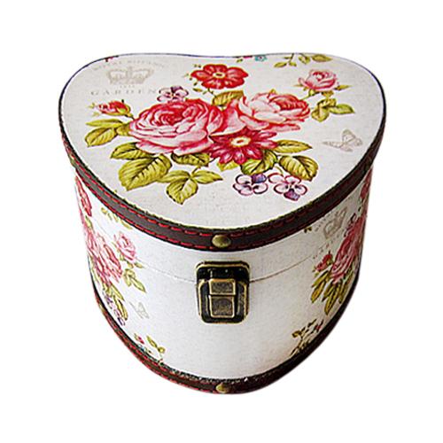 Шкатулка для хранения Sanmu Розы, 23,5 х 23 х 15 см771239501Шкатулка Розы, изготовленная из МДФ и холщовой ткани, выполнена в виде сердца с изображением цветов и бабочек. Изделие оснащено крышкой, которая закрывается на металлический замок-защелку. Изящная шкатулка с ярким дизайном предназначена для хранения мелочей, принадлежностей для шитья и творчества и других аксессуаров. Она красиво оформит интерьер комнаты и поможет хранить ваши вещи в порядке. Размер шкатулки: 23,5 см х 23 см х 15 см.