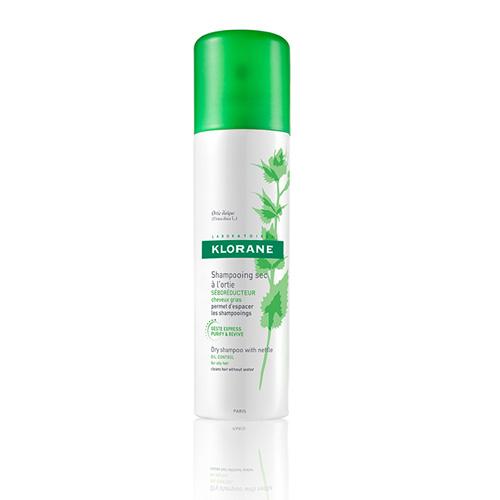 Klorane Сухой шампунь Oily Prone Hair с экстрактом крапивы ( в спрее) 150мл