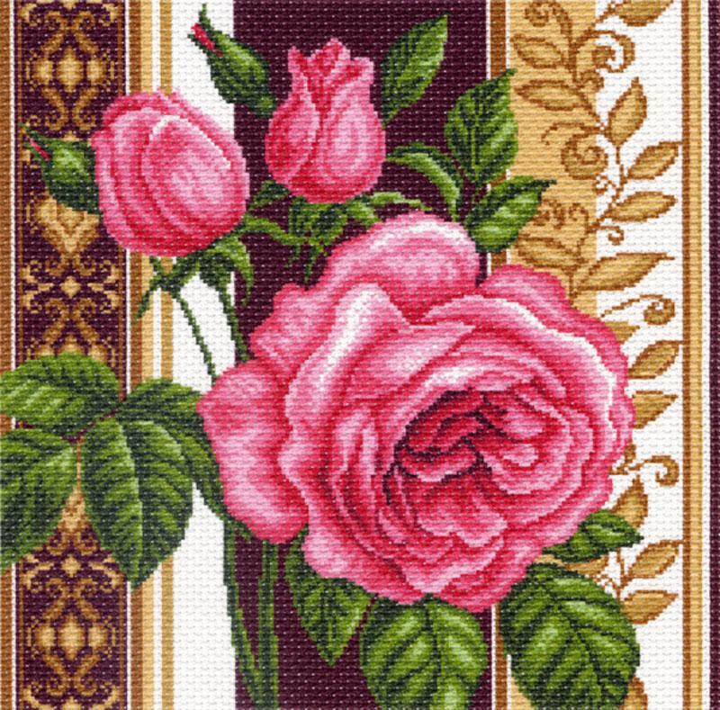 Канва с рисунком для вышивания Розовый каприз, 34 х 34 см551175Канва с рисунком для вышивания Розовый каприз изготовлена из хлопка. Рисунок- вышивка выполненный на такой канве, выглядит очень оригинально. Вышивка выполняется в технике полный крестик в 2-3 нити или полукрестом в 4 нити. Вышивание отвлечет вас от повседневных забот и превратится в увлекательное занятие! Работа, сделанная своими руками, создаст особый уют и атмосферу в доме и долгие годы будет радовать вас и ваших близких, а подарок, выполненный собственноручно, станет самым ценным для друзей и знакомых. Рекомендуемое количество цветов: 14 шт. УВАЖАЕМЫЕ КЛИЕНТЫ! Обращаем ваше внимание, на тот факт, что нитки в комплект не входят.