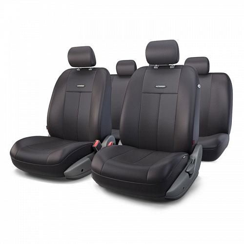 Авточехлы Autoprofi TT, цвет: черный, 9 предметов. TT-902P BK/BKTT-902P BK/BKАвтомобильные чехлы Autoprofi TT изготавливаются из высококачественного полиэстера со вставками из поролона, обеспечивающего сцепление с сиденьем. Мягкие чехлы являются отличным дополнением салона любого автомобиля. Изделия придают автомобильному интерьеру современные и солидные черты. Универсальная конструкция подходит для большинства автомобильных сидений. Подходят для автомобилей с боковыми подушками безопасности (распускаемый шов). Специальные молнии, расположенные в чехлах спинки заднего ряда, позволяют использовать чехлы на автомобилях с различными пропорциями складывания заднего ряда. Комплектация: 5 подголовников, 2 чехла сидений переднего ряда, 1 спинка заднего ряда, 1 сиденье заднего ряда.