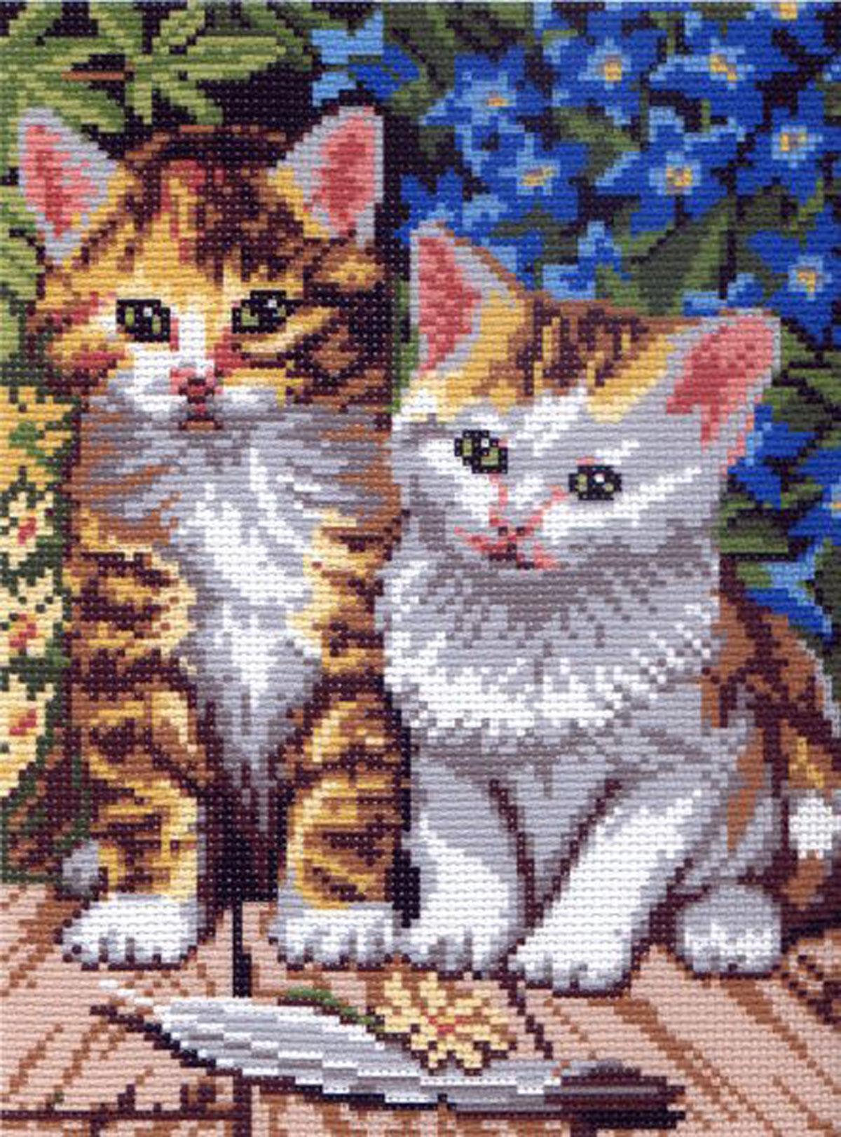 Канва с рисунком для вышивания Мурзики, 24 см х 17,5 см551247Канва с рисунком для вышивания Мурзики изготовлена из хлопка. Рисунок-вышивка выполненный на такой канве, выглядит очень оригинально. Вышивка выполняется в технике полный крестик в 2-3 нити или полукрестом в 4 нити. Вышивание отвлечет вас от повседневных забот и превратится в увлекательное занятие! Работа, сделанная своими руками, создаст особый уют и атмосферу в доме и долгие годы будет радовать вас и ваших близких, а подарок, выполненный собственноручно, станет самым ценным для друзей и знакомых. Рекомендуемое количество цветов: 16 шт. УВАЖАЕМЫЕ КЛИЕНТЫ! Обращаем ваше внимание, на тот факт, что нитки в комплект не входят.