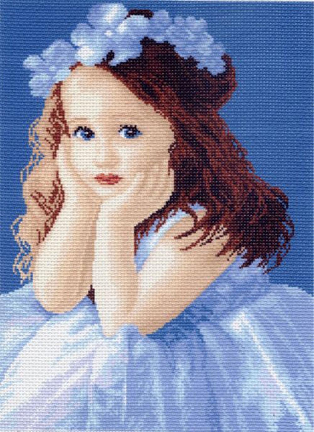 Канва с рисунком для вышивания Алёнка, 40,4 см х 29 см551038Канва с рисунком Алёнка изготовлена из хлопка, которая поможет вам создать свой личный шедевр - красивую вышитую картину. Вышивка выполняется в технике полный крестик в 2-3 нити или полукрестом в 4 нити. На полях рисунка указаны цветовая палитра и предполагаемый метраж ниток для вышивки. Вышивание отвлечет вас от повседневных забот и превратится в увлекательное занятие! Работа, сделанная своими руками, создаст особый уют и атмосферу в доме и долгие годы будет радовать вас и ваших близких. Рекомендуемое количество цветов: 17. Размер готового рисунка: 40,4 см х 29 см. Нитки в комплект не входят.