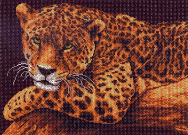 Канва с рисунком для вышивания Ягуар, 38,4 см х 28,3 см549991Канва с рисунком Ягуар изготовлена из хлопка, которая поможет вам создать свой личный шедевр - красивую вышитую картину. Вышивка выполняется в технике полный крестик в 2-3 нити или полукрестом в 4 нити. На полях рисунка указаны цветовая палитра и предполагаемый метраж ниток для вышивки. Вышивание отвлечет вас от повседневных забот и превратится в увлекательное занятие! Работа, сделанная своими руками, создаст особый уют и атмосферу в доме и долгие годы будет радовать вас и ваших близких. Рекомендуемое количество цветов: 9. Размер готового рисунка: 38,4 см х 28,3 см. Нитки в комплект не входят.