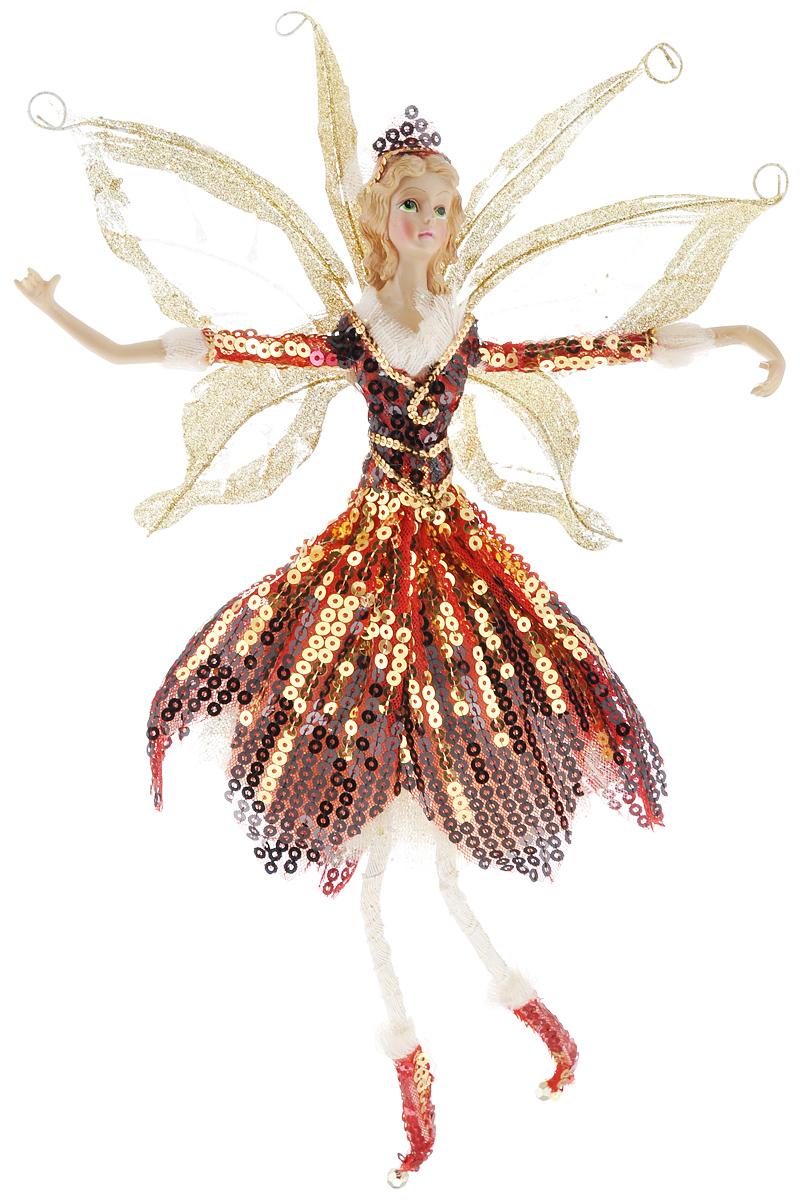 Новогоднее подвесное украшение Sima-land Фея, высота 41 см685910/380-26Новогоднее украшение Sima-land Фея отлично подойдет для декорации вашего дома и новогодней ели. Игрушка выполнена из полистоуна в виде феи, декорированной блестками и пайетками. Украшение оснащено петелькой для подвешивания. Елочная игрушка - символ Нового года. Она несет в себе волшебство и красоту праздника. Создайте в своем доме атмосферу веселья и радости, украшая всей семьей новогоднюю елку нарядными игрушками, которые будут из года в год накапливать теплоту воспоминаний.