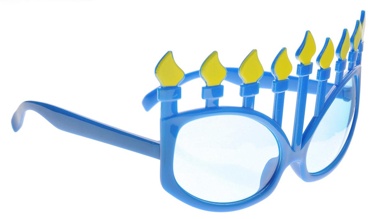 Очки карнавальные Феникс-Презент Свечи34320Карнавальные очки Феникс-Презент Свечи выполнены из пластика. Они отлично дополнят ваш маскарадный костюм и помогут создать яркий образ. Очки предназначены для быстрого и необременительного перевоплощения на костюмированной вечеринке или маскараде. Сделайте свой праздник веселым и ярким!
