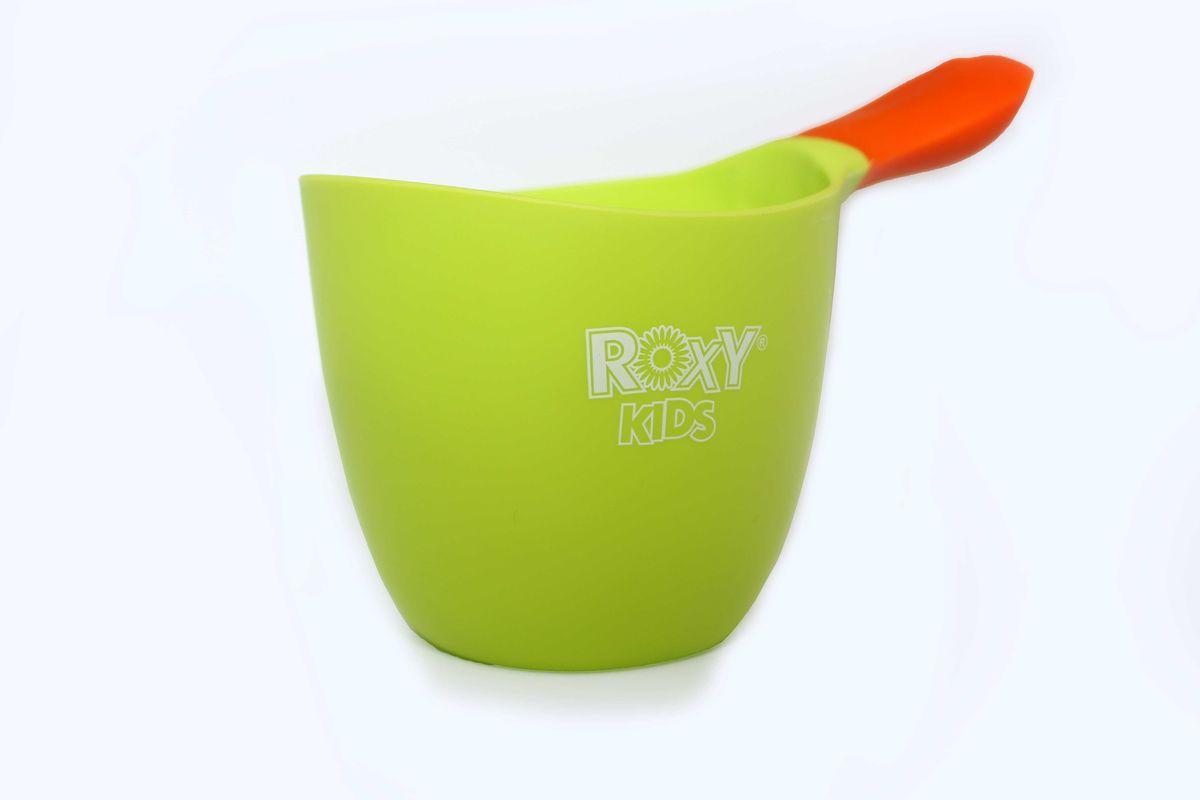 Roxy-kids Ковш детский для мытья головы цвет салатовыйRBS-001-GRКовш детский для мытья головы Roxy-kids выполнен из высококачественного ABS пластика, контрастная прорезиненная ручка ковшика не скользит в руках. Яркий красивый и самое главное удобный ковшик станет незаменимым помощником при купании малыша.