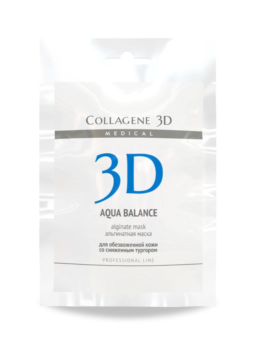 Medical Collagene 3D Альгинатная маска для лица и тела Aqua Balance, 30 г22021Высокоэффективная, пластифицирующая маска на основе лучшего натурального сырья. Гиалуроновая кислота которая является активным компонентом маски, способствует нормализации водного баланса, заполняя морщины изнутри.