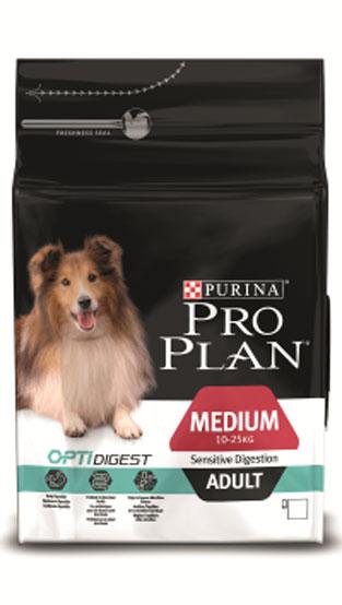 Корм сухой Pro Plan Optidigest для собак средних пород с чувствительным пищеварением, с ягненком и рисом, 7 кг12278923Сухой корм Pro Plan Optidigest для взрослых собак средних пород с чувствительным пищеварением содержит высококачественный белок из ягненка. Корм легко переваривается, пребиотики в составе корма способствуют здоровью кишечника. Специально разработанный состав улучшает баланс микрофлоры кишечника. Состав: сухой белок птицы, кукуруза, пшеница, ягненок (14%), животный жир, кукурузная мука, рис (4%), вкусоароматическая кормовая добавка, сухая мякоть свеклы, глютен, продукты переработки растительного сырья, минеральные вещества, сушеный корень цикория (1%, источник пребиотиков), яичный порошок, рыбий жир, витамины, антиоксиданты. Добавленные вещества, МЕ/кг: витамин A 30000; витамин D3 975; витамин Е 550 мг/кг; витамин С 140; железо 66 МЕ/кг; йод 1,7; медь: 10; марганец: 31; цинк 125; селен 0,1. Гарантируемые показатели: белок 25%, жир 15%, сырая зола 7,5%, клетчатка 3%. Товар сертифицирован.