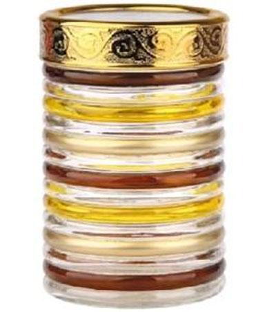 Банка для сыпучих продуктов Bohmann Кольца, цвет: прозрачный, золотой, коричневый, 1,3 л01332BHGNEWБанка Bohmann Кольца изготовлена из стекла. Емкость снабжена пластиковой крышкой, которая плотно закрывается, дольше сохраняя аромат и свежесть содержимого. Банка подходит для хранения сыпучих продуктов: круп, специй, сахара, соли. Такая банка станет полезным приобретением и пригодится на любой кухне. Диаметр (по верхнему краю): 10,5 см. Высота (без учета крышки): 16,5 см.