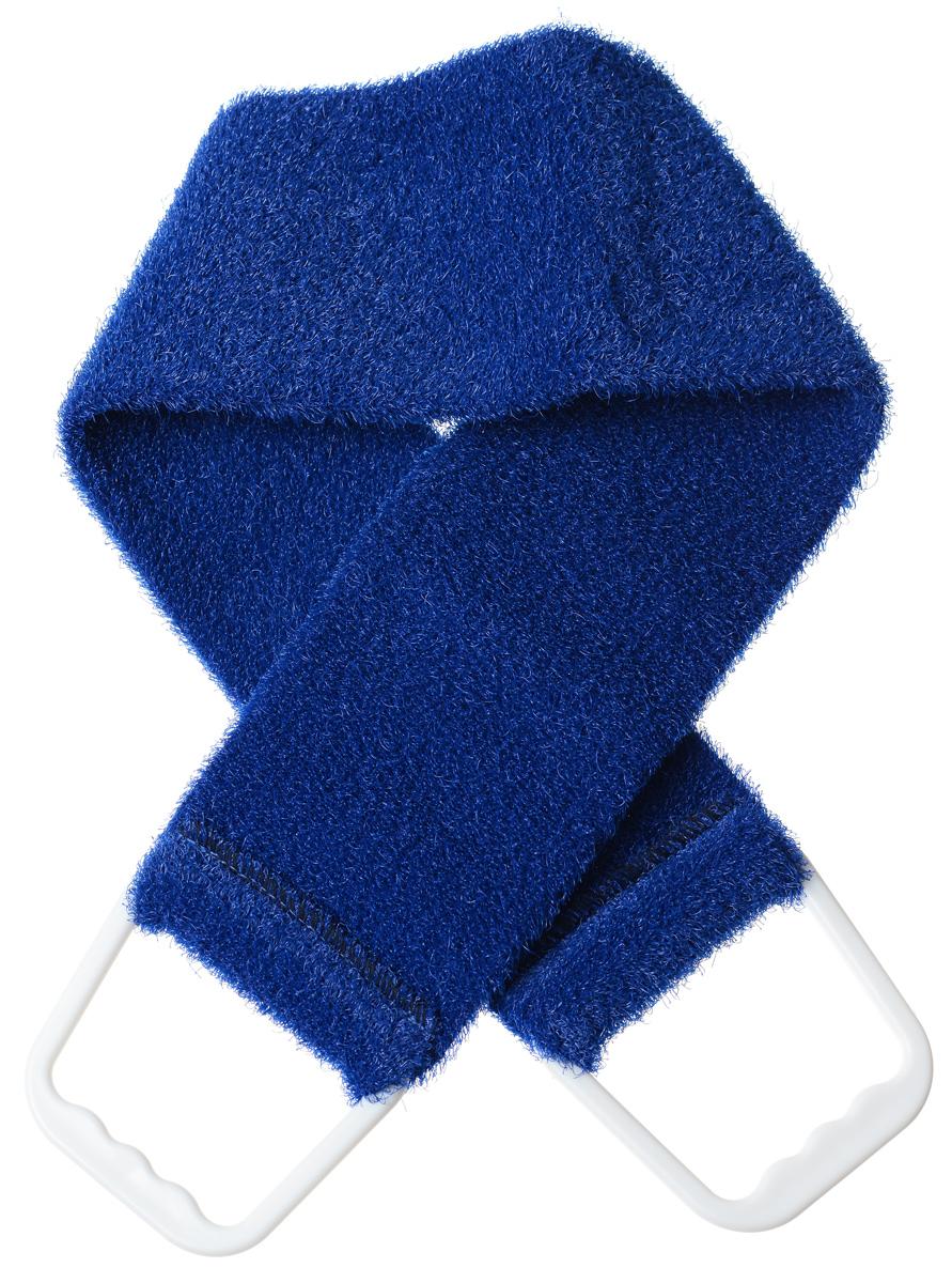 Riffi Мочалка-пояс, массажная, жесткая, цвет: темно-синий720_темно-синийМочалка-пояс Riffi используется для мытья тела, обладает активным пилинговым действием, тонизируя, массируя и эффективно очищая вашу кожу. Примесь жестких синтетических волокон усиливает массажное воздействие на кожу. Для удобства применения пояс снабжен двумя пластиковыми ручками. Благодаря отшелушивающему эффекту мочалки-пояса, кожа освобождается от отмерших клеток, становится гладкой, упругой и свежей. Массаж тела с применением Riffi стимулирует кровообращение, активирует кровоснабжение, способствует обмену веществ, что в свою очередь позволяет себя чувствовать бодрым и отдохнувшим после принятия душа или ванны. Riffi регенерирует кожу, делает ее приятно нежной, мягкой и лучше готовой к принятию косметических средств. Приносит приятное расслабление всему организму. Борется со спазмами и болями в мышцах, предупреждает образование целлюлита и обеспечивает омолаживающий эффект. Моет легко и энергично. Быстро сохнет. Гипоаллергенная. Способ применения:...