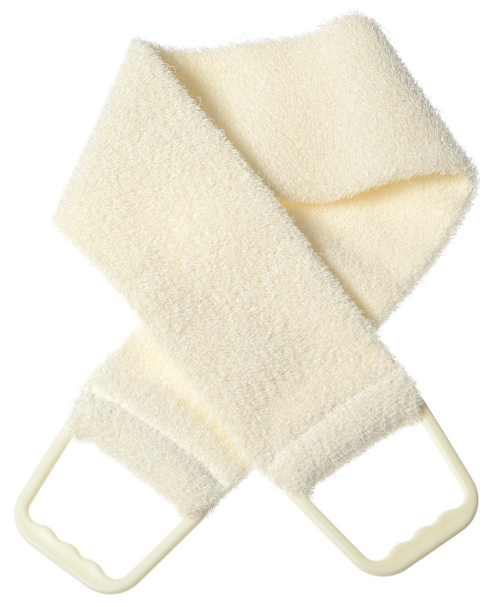 Riffi Мочалка-пояс, массажная, жесткая, цвет: молочный720_молочныйМочалка-пояс Riffi используется для мытья тела, обладает активным пилинговым действием, тонизируя, массируя и эффективно очищая вашу кожу. Примесь жестких синтетических волокон усиливает массажное воздействие на кожу. Для удобства применения пояс снабжен двумя пластиковыми ручками. Благодаря отшелушивающему эффекту мочалки-пояса, кожа освобождается от отмерших клеток, становится гладкой, упругой и свежей. Массаж тела с применением Riffi стимулирует кровообращение, активирует кровоснабжение, способствует обмену веществ, что в свою очередь позволяет себя чувствовать бодрым и отдохнувшим после принятия душа или ванны. Riffi регенерирует кожу, делает ее приятно нежной, мягкой и лучше готовой к принятию косметических средств. Приносит приятное расслабление всему организму. Борется со спазмами и болями в мышцах, предупреждает образование целлюлита и обеспечивает омолаживающий эффект. Моет легко и энергично. Быстро сохнет. Гипоаллергенная. Способ применения:...
