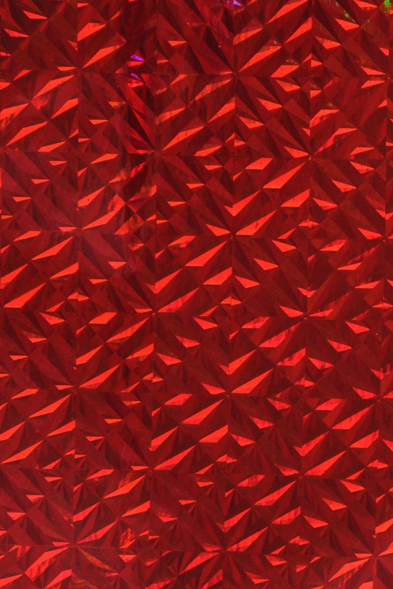 Бумага упаковочная Folia Магия, цвет: красный, 40 см х 100 см