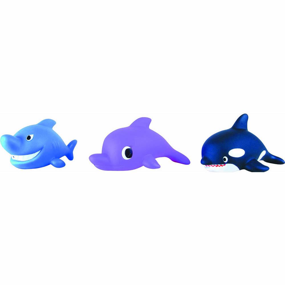 Пластизоль GT2461 Океан 3 шт, в сеткеGT2461Универсальные фигурки для самых разных детских игр. Торговая марка «Затейники» предлагает оригинальных ярких животных из серии Океан, которые помогут малышу изучать окружающий мир. Изделия выполнены из ПВХ пластизоля. Отличное качество порадует родителей. С ними обычное купание в ванной превратится в веселую игру! Размер: 13*10*7 см, вес: 80 г, количество деталей: 3.