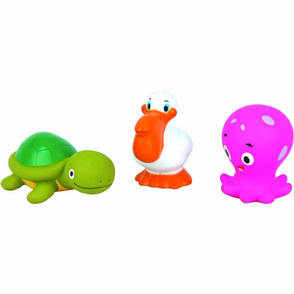 Пластизоль GT2462 Океан 3 шт в сеткеGT-2462Игрушки, изготовленные из высококачественных полимерных материалов, очень нравятся малышам. С ними любая игра станет намного веселее. Торговая марка «Затейники» предлагает широкий выбор таких игрушек. Например, с представленным набором «Океан» ребенок сможет играть даже в ванной. Размер: 7*13*12 см, вес: 89 г, количество деталей: 3.