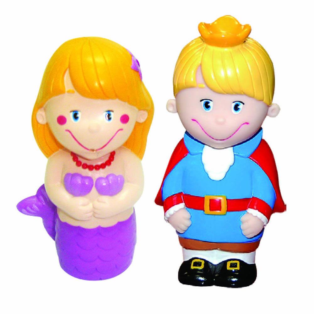 Пластизоль GT2794 Набор Принц и Русалочка в пакетеGT-2794Забавные куколки Принц и русалочка от ТМ «Затейники», выполненные из пластизоля, станут любимыми друзьями Вашего ребенка. При производстве игрушек используются новейшие технологии и высококачественное американское сырье без применения фталатов. Все игрушки имеют точную прорисовку деталей. Размер упаковки: 10*9,5*3 см, вес: 51 г.