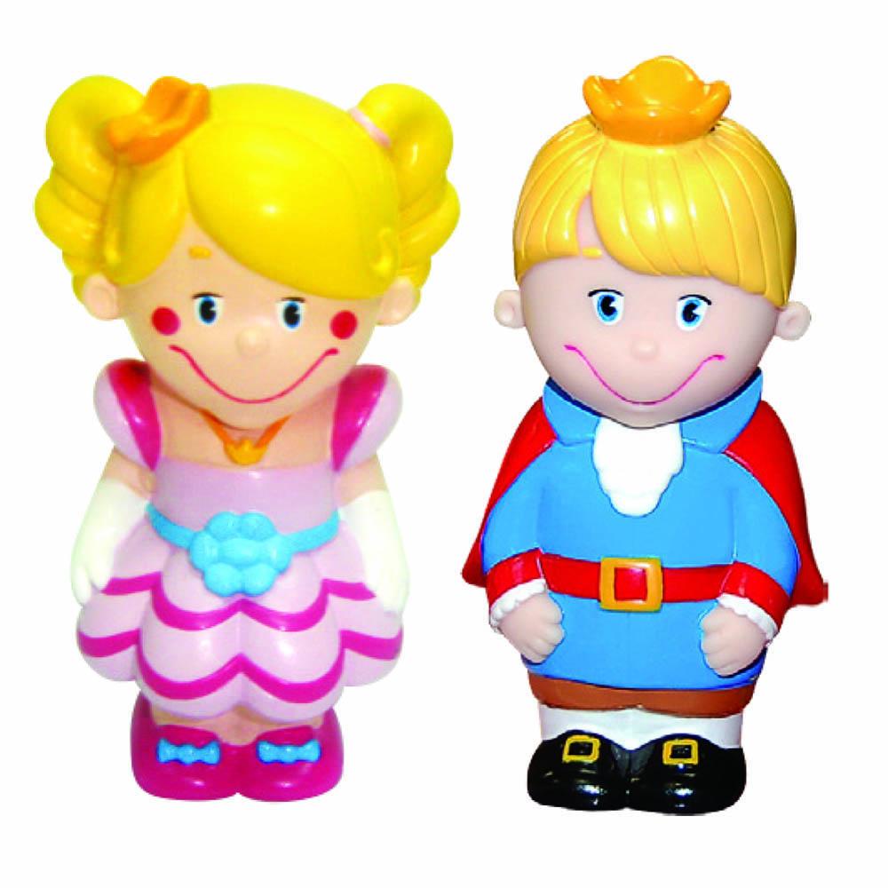 Пластизоль GT2795 Набор Принц и Принцесса, 8 см, в пакетеGT2795Забавные куколки Принц и принцесса от ТМ «Затейники», выполненные из пластизоля, станут любимыми друзьями Вашего ребенка. При производстве игрушек используются новейшие технологии и высококачественное американское сырье без применения фталатов. Все игрушки имеют точную прорисовку деталей. Размер упаковки: 12,5*10*3 см, вес: 53 г.