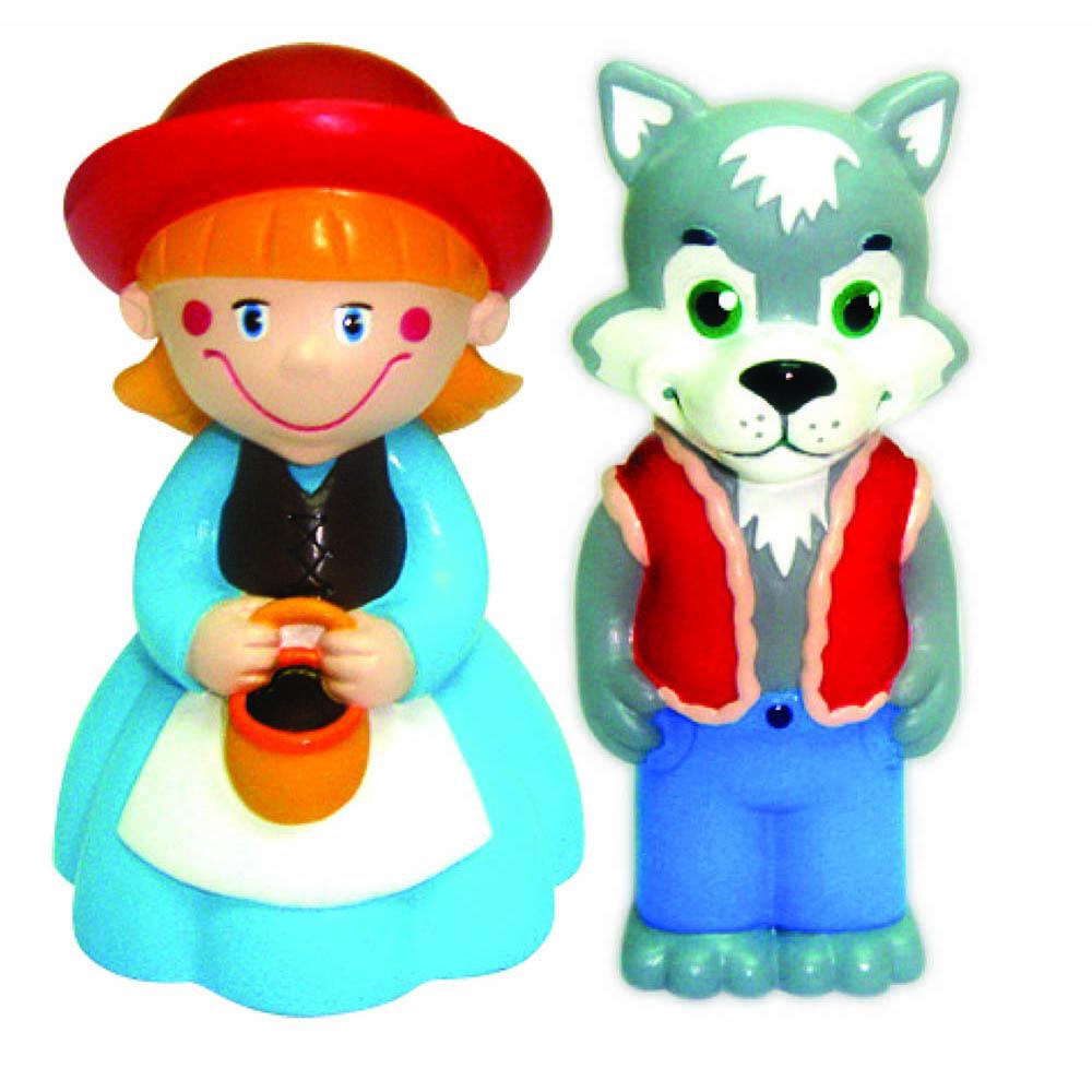 Пластизоль GT2796 Набор Красная Шапочка в пакетеGT2796Забавные куколки Красная Шапочка и Волк от ТМ «Затейники», выполненные из пластизоля, станут любимыми друзьями Вашего ребенка. При производстве игрушек используются новейшие технологии и высококачественное американское сырье без применения фталатов. Все игрушки имеют точную прорисовку деталей. Размер упаковки: 16*8*6 см, вес: 61 г.