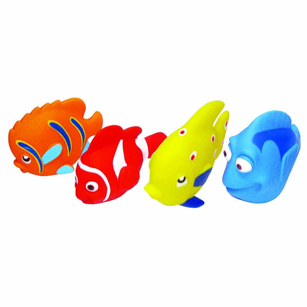 Пластизоль GT3365 Океан 4 шт, в сеткеGT3365/LXB171/173/172/175Игрушки, изготовленные из высококачественных полимерных материалов, очень нравятся малышам. С ними любая игра станет намного веселее. Торговая марка «Затейники» предлагает широкий выбор таких игрушек. Например, с представленным набором «Океан» ребенок сможет играть даже в ванной. Размер: 7*11*9 см, вес: 81 г.