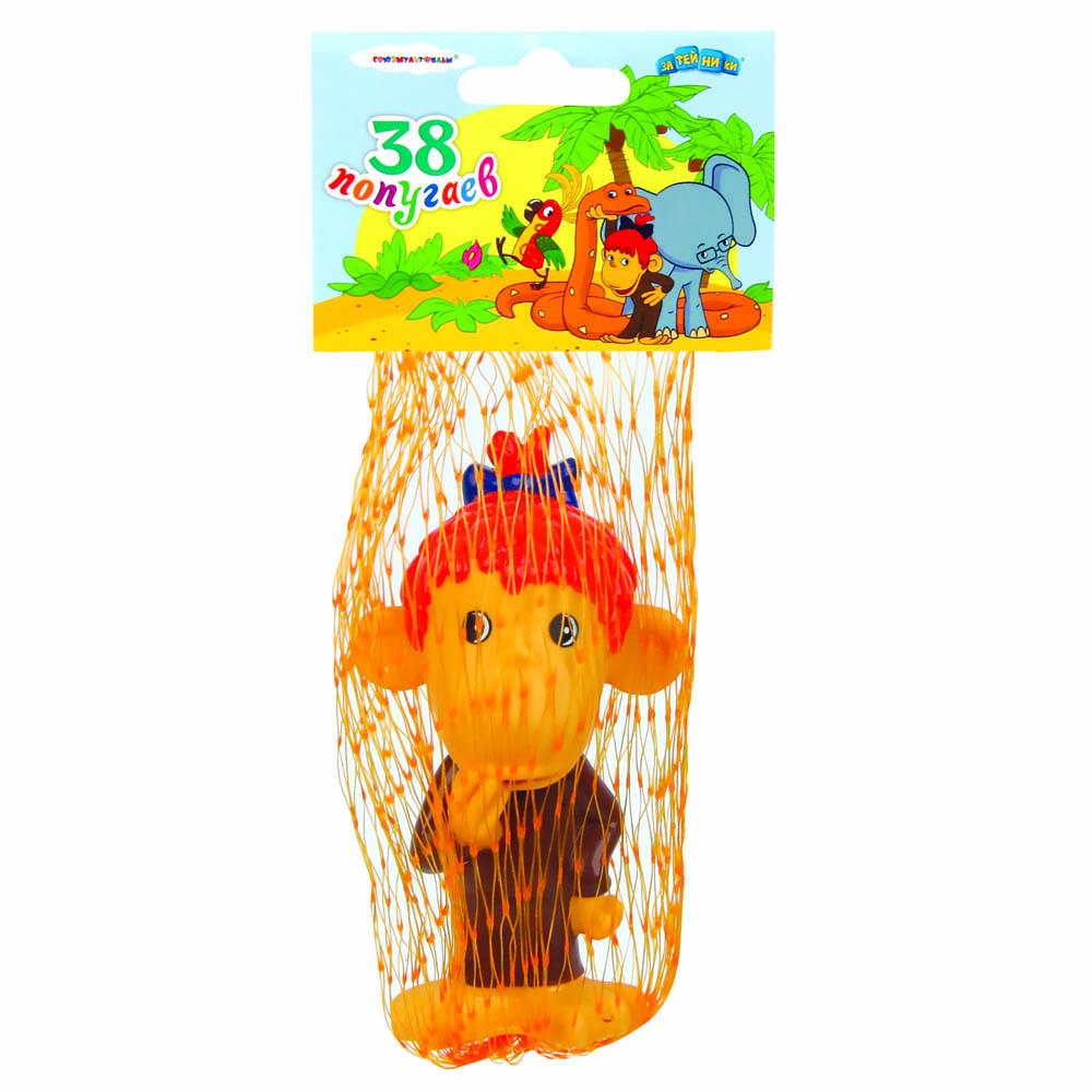 Пластизоль GT5850 Мартышка, в сеткеGT5850Игрушки, изготовленные из высококачественных полимерных материалов, очень нравятся малышам. С ними любая игра станет намного веселее. «Союзмультфильм» предлагает широкий выбор таких игрушек. Например, с представленной фигуркой Мартышки ребенок сможет играть даже в ванной!