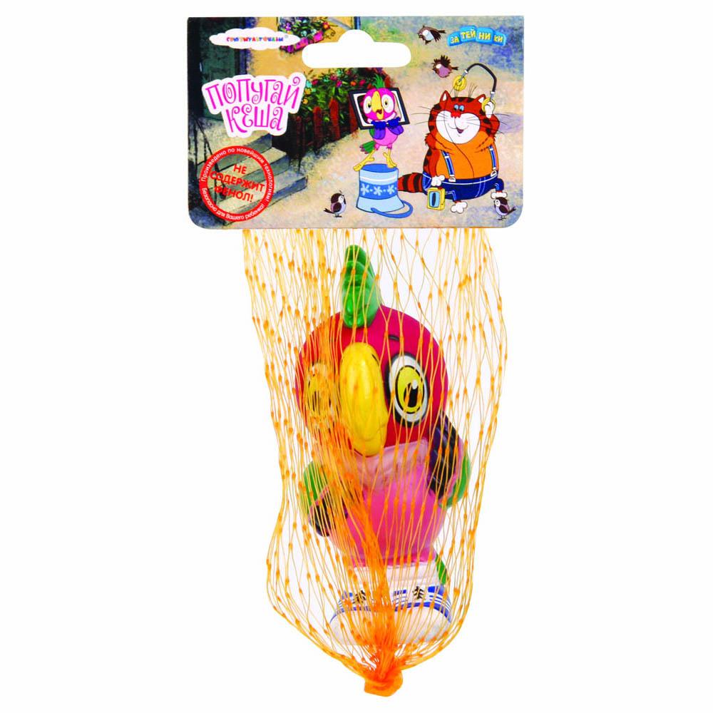 Пластизоль GT5851 Попугай Кеша, в сеткеGT5851Игрушки, изготовленные из высококачественных полимерных материалов, очень нравятся малышам. С ними любая игра станет намного веселее. «Союзмультфильм» предлагает широкий выбор таких игрушек. Например, с представленной фигуркой попугая Кеши ребенок сможет играть даже в ванной!
