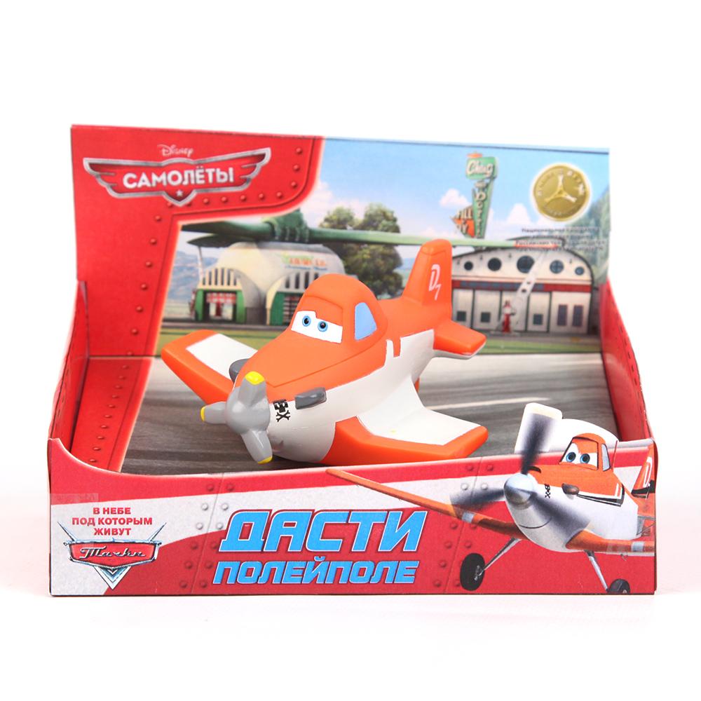 Пластизоль GT6692 Самолет Дасти, в коробкеGT6692Забавная фигурка мультипликационного героя «Самолеты» Дасти, выполнена из пластизоля, станет любимым другом Вашего ребенка. Игрушка порадует малыша и превратит купание в удовольствие, а игра с ним поможет развить мелкую моторику рук, воображение, цветовосприятие и концентрацию внимания.При производстве игрушек используются новейшие технологии и высококачественное сырье без применения фталатов. Все игрушки расписаны вручную и отличаются точной прорисовкой деталей.
