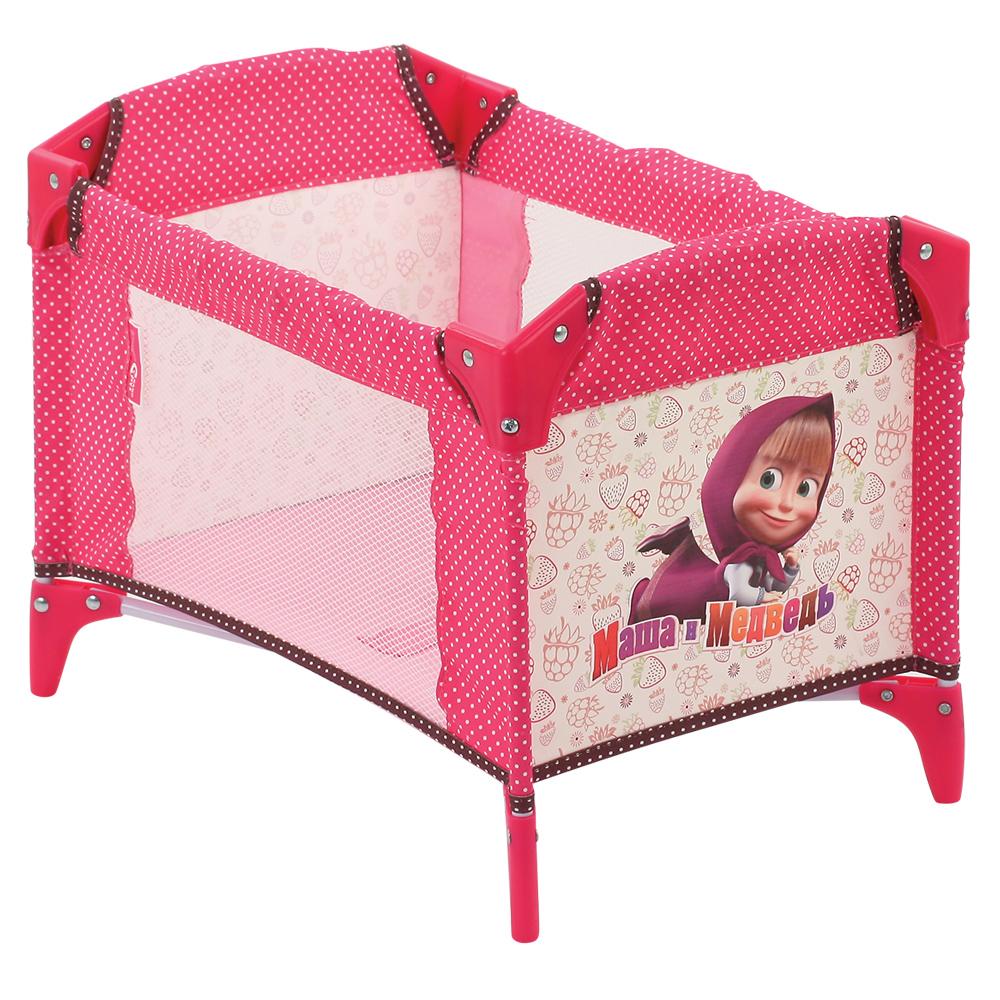 Кроватка GT7699 в коробкеD90733Красивый и функциональный аксессуар для игры в дочки-матери. Он понравится вашей малышке своей ярко-розовой расцветкой с рисунками. В манеж можно усадить любимую куколку, а можно использовать его как кроватку для неё или место для хранения других игрушек. Размер манежа: 41x31,5x31,5 см.