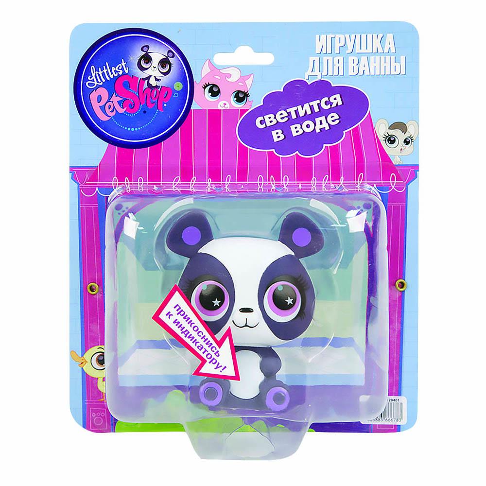 Пластизоль GT8142 Панда Пенни, со светом, в блистереGT8142Панды - это одни из самых милых и симпатичных медведей в мире. Они являются любимцами любого зоопарка. Панда Пенни является одним из героев знаменитого маленького зоомагазина Littlest Pet Shop. У игрушки небольшой размер, поэтому ее легко держать в руках, это развивает у ребенка мелкую моторику. Игрушка сделана из прочного гипаллергенного материала. Ее можно брать с собой на улицу или играть с ней дома, а также в ванне, ведь она отлично плавает. Светится на суше и в воде, благодаря индикатору в нижней части. Ребенок будет играть с ней, пока вы его моете. Играя с Пандой Пенни малыш будет развивать воображение и усидчивость. Панда Пенни в блистере от компании Hasbro станет прекрасной частью вашей игрушечной коллекции. Высота игрушки 9 см. Работает от 1-й CR2016 (входит в комплект).
