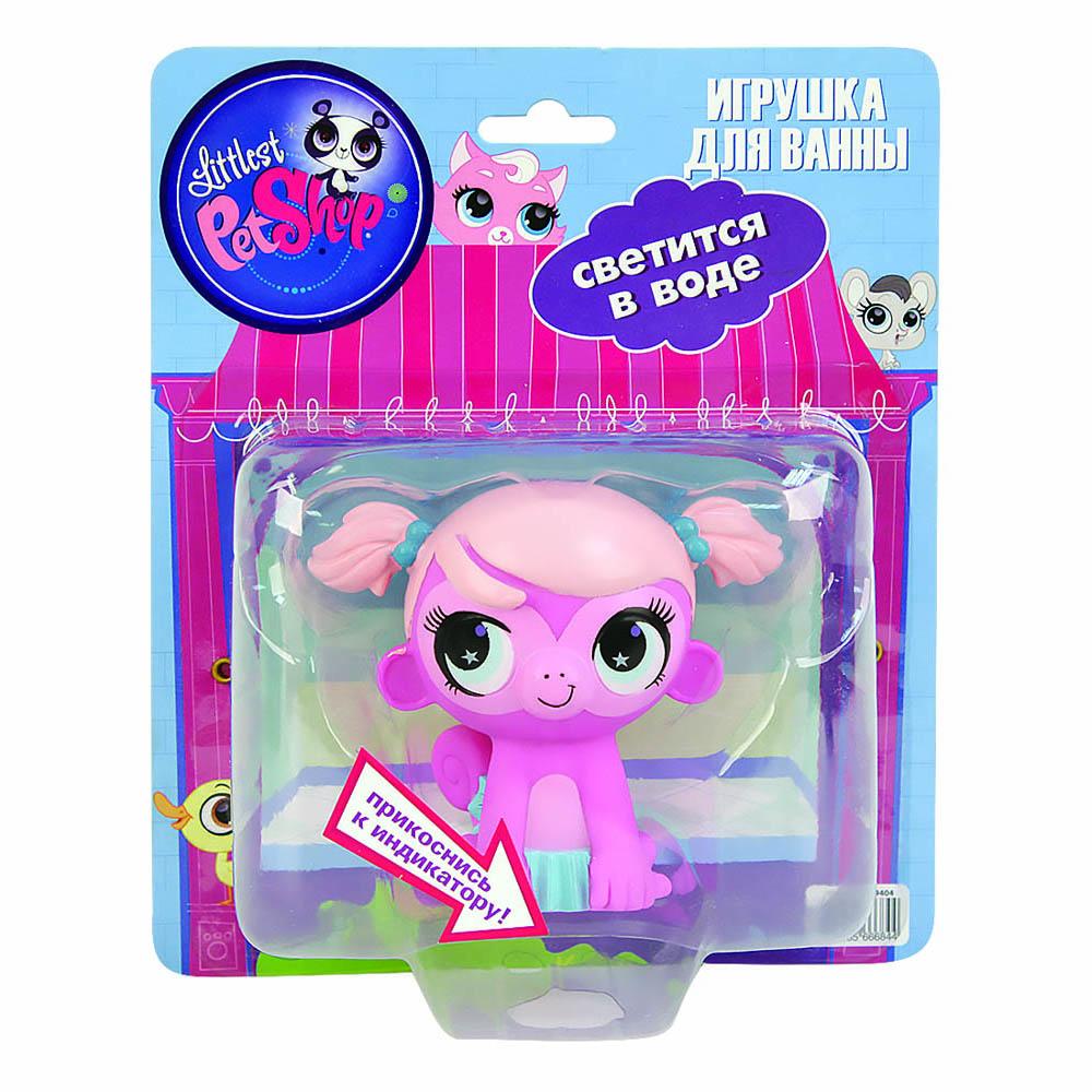 Пластизоль GT8145 Обезьянка Минка, со светом, в блистереGT8145Минка является одним из веселых героев серии My Littlest Pet Shop. Эта розовая обезьянка обязательно придется по душе вашему ребенку. У этой игрушки имеется интересная функция. В ее нижней части расположен индикатор, который реагирует на прикосновение. Если положить Минку на ладонь, то она засветится и замигает. Благодаря тому, что игрушка отлично держится на воде и светится в ней, ее можно брать с собой в ванну во время водных процедур. Теперь купание станет еще более увлекательным. Игрушка сделана из качественных материалов, которые не вызывают у детишек аллергию или раздражение. Обезьянка Минка со светом - это прекрасный подарок вашему ребенку. Высота игрушки 9 см. Работает от 1-й CR2016 (входит в комплект).