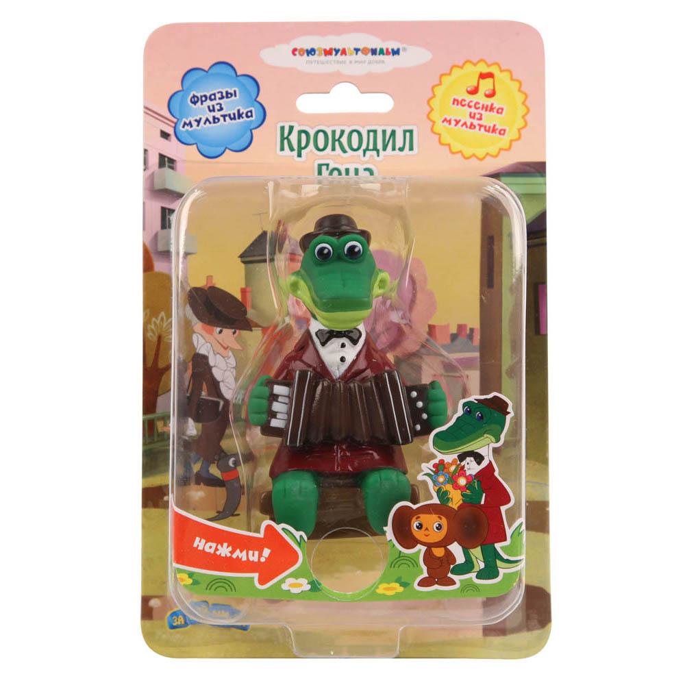 Пластизоль GT7775 Крокодил Гена, со звуком, в блистереGT7775Знаменитый Крокодил Гена со своей гармошкой, точно повторяющий образ из популярного советского мультфильма, непременно понравится детишкам. С такой игрушкой можно играть где угодно и вместе купаться. А мягкий материал из которого изготовлен Крокодил и отсутствие острых углов делают игрушку совершенно безопасной для ребенка. Кроме того игрушка, при нажатии на кнопку, может спеть тебе знаменитую песенку или произнести популярные фразы из мультфильма.