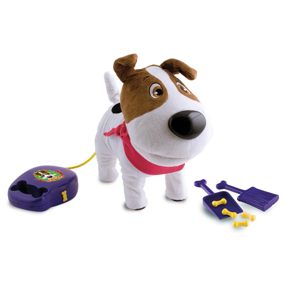 Собака интерактивная Cacamax93997Интерактивная игрушка Cacamax от IMC Toys представляет из себя озорного и смешного щенка. Собачка управляется с пульта-поводка, может ходить, сидеть, лаять, кушать специальный корм и в следствии какать (по команде с пульта)! Для того чтобы Какамакс сделал свои большие дела его нужно накормить специальными косточками (в комплекте) и нажать специальную кнопку на пульте-поводке. Во время данного процесса интерактивный щенок немножко приседает, что смотрится довольно реалистично и смешно. А для того чтобы убрать за своим питомцем в комплекте есть специальный совочек и веник. Собачка Cacamax на самом деле поражает своими уникальными умениями, приводя в восторг взрослых и детей, ведь не каждая игрушка на такое способна... Комплект: собачка Cacamax с пультом управления, 4 палочки-корма, 1 совочек и 1 метелочка для уборки за собачкой. В ассортименте - Собака Какамакс с банданами (косынками) трех разных цветов. В комплекте: собачка Какамакс с пультом управления, 4 палочки-корма, 1 совочек...
