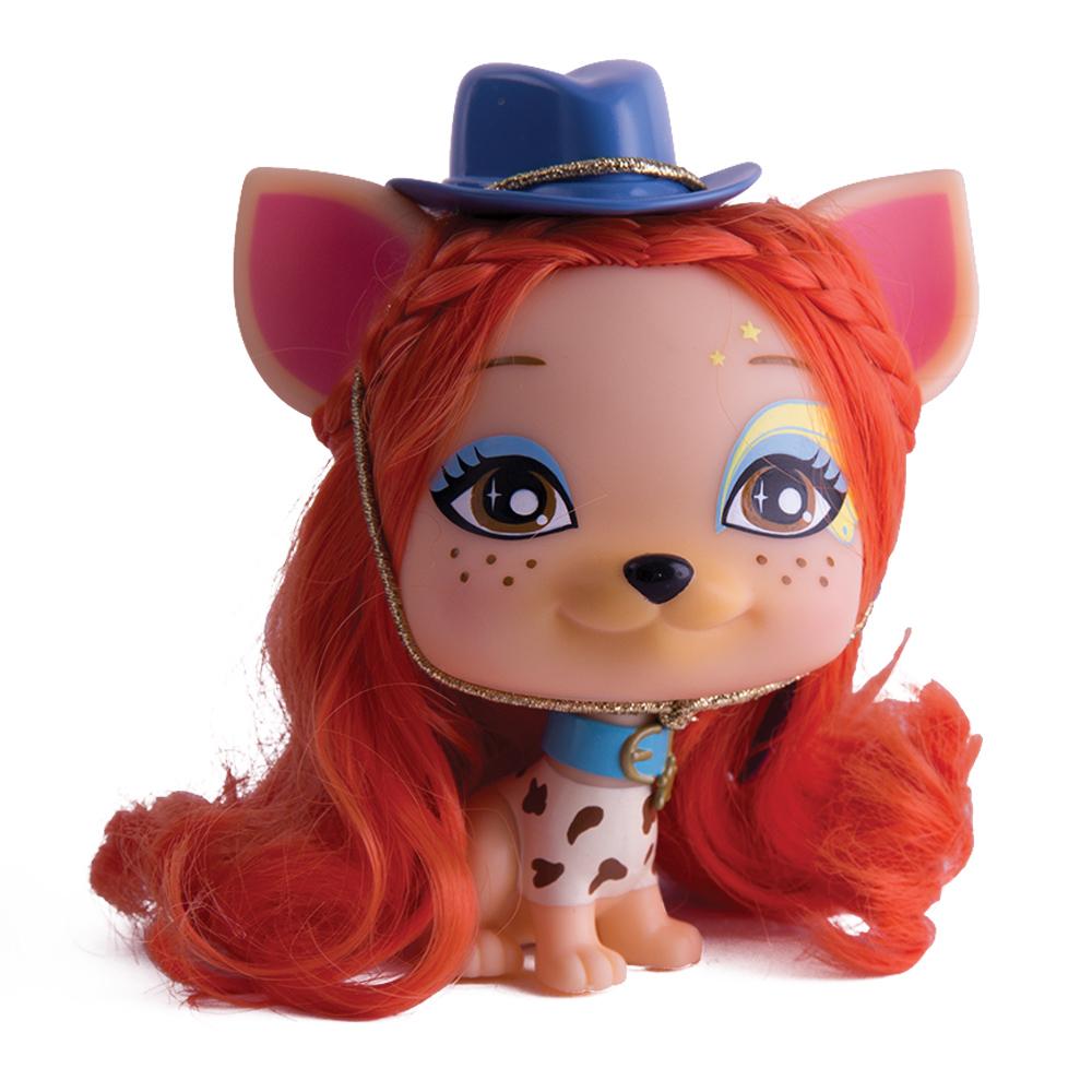 Собака Дакота с аксессуарами711341Собачка Дакота (Dakota) - любит приключения, обладает авантюрным духом и является искусным наездником. У собачки шикарные рыжие волосы, ковбойская шляпа и стильные сережки.
