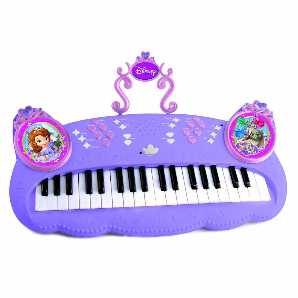 Пианино 205017 Sofia на батарейках, в коробке205017Эксклюзивное электронное пианино Sofia станет самым лучшим подарком для увлеченной музыкой девочки. Оно имеет множество звуковых эффектов и музыкальное сопровождение. Также имеется регулятор громкости и функция записи. Игрушка работает от батареек, которые идут в комплекте.