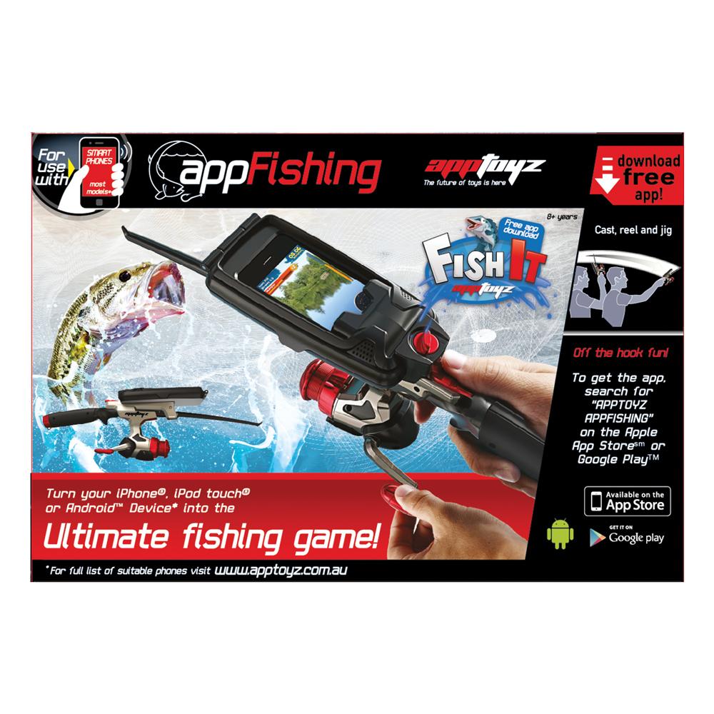 Рыбалка AZ009 удочкаAZ009Игрушка Рыбалка App – это забавная игрушка для взрослого и ребенка, это удивительная удочка – интересный гаджет AppFISHING App Toyz для устройств iPhone, iPod Touch, Android. Игрушка рыбалка подойдет для использования с устройствами iPhone 3GS, iPhone 4, iPhone 4S, iPod Touch 4G, а также SmartPhones под Android 2,3 и выше. Специальная насадка прочно крепится на устройстве, и подробная инструкция расскажет, как подключить гаджет к Вашему устройству, а затем можно погрузиться в увлекательный мир рыболовства. У Вас есть полное погружение в рыбалку благодаря тому что игрушка Рыбалка App сделана в виде удочки, и на мониторе устройства синхронно отображаются виши действия. Например, наклон экрана, заброс удочки в воду. Рыбалка обещает быть увлекательной. Благодаря устройству Рыбалка App можно играть в рыбалку в любом месте. Чтобы начать игру, нужно скачать на свое устройство с App Store или Google Play приложение для игры и саму игру, которые является бесплатным. Когда в удочку вставляется...