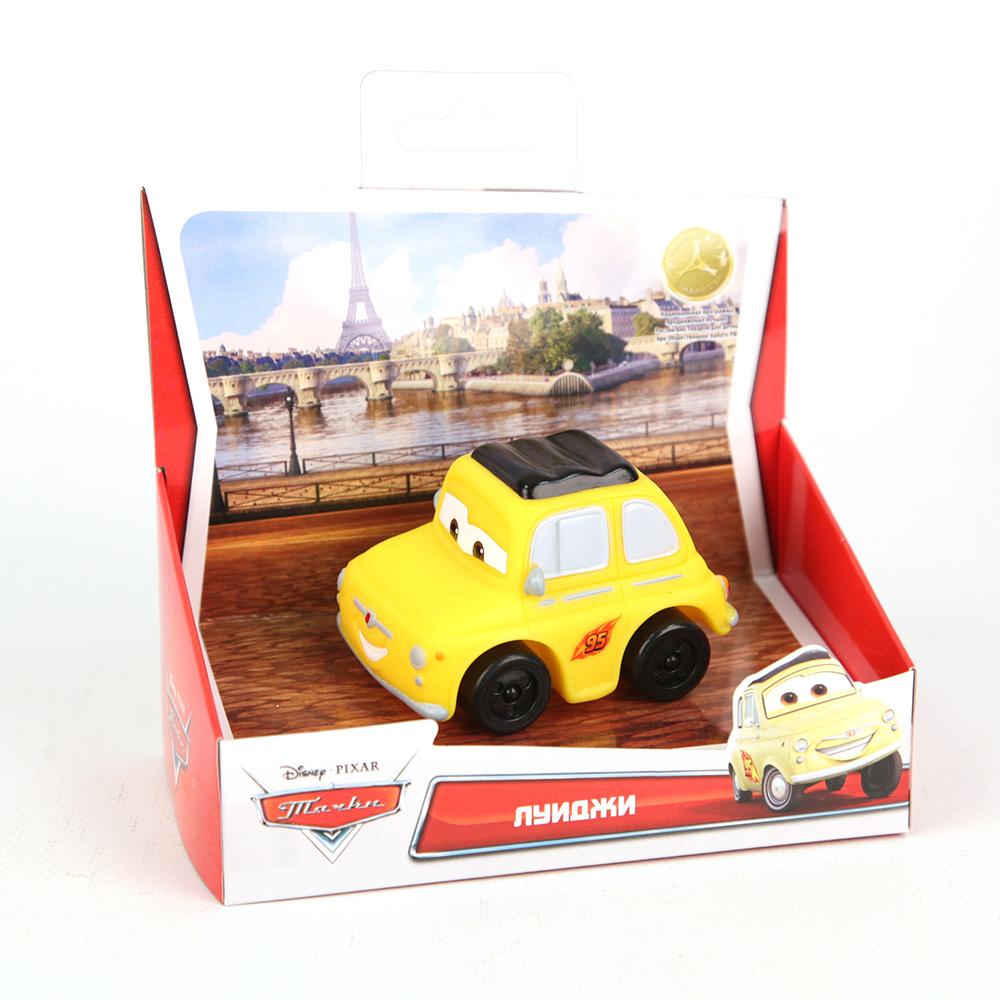 Пластизоль GT6253 Луиджи, в коробкеGT6253Машинка Луиджи из мультфильма Тачки - забавная и яркая копия из мультфильма, которой можно играть и в воде, и дома, и на улице.