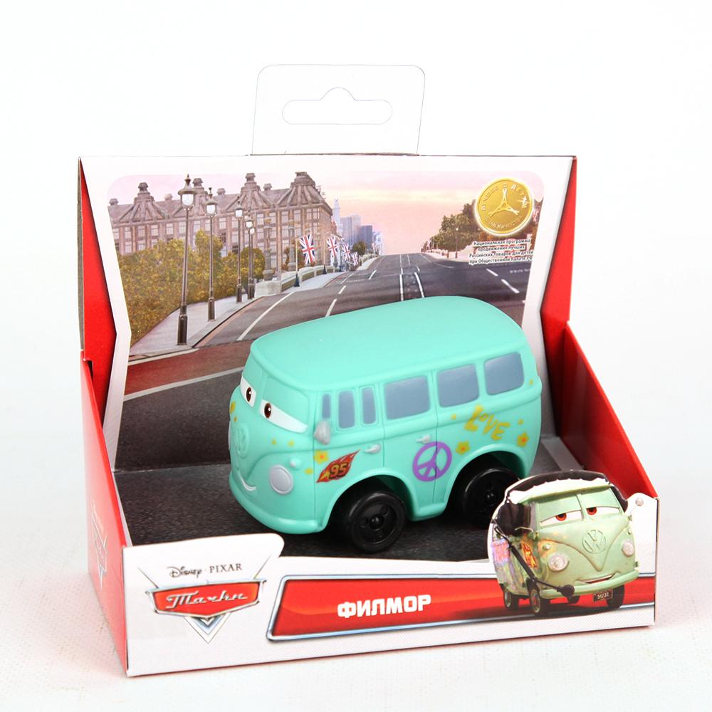 Пластизоль GT6254 Филлмор, в коробкеGT6254Машинка Филлмор из мультфильма Тачки - забавная и яркая копия из мультфильма, которой можно играть и в воде, и дома, и на улице.
