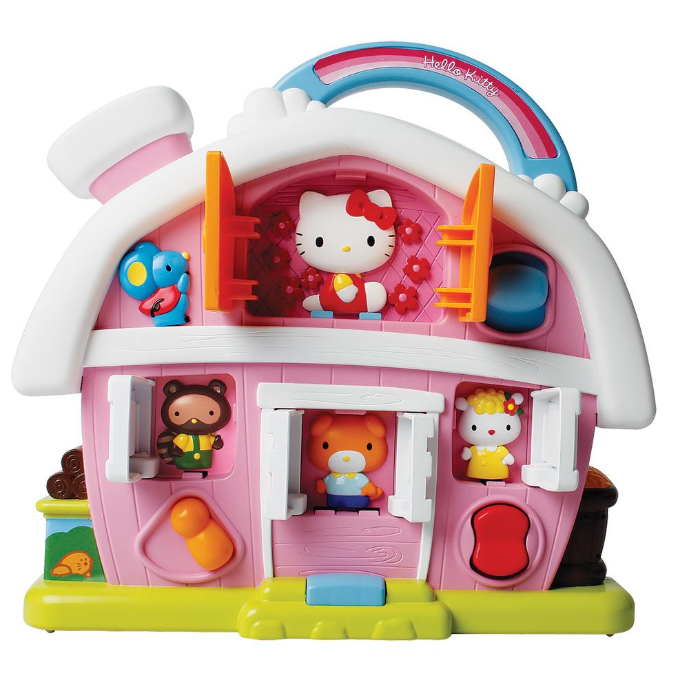 Логика 65001 Hello Kitty Фермерский дом со звуком, с батарейками, в коробке65001Игровой набор Фермерский Дом со звуком Hello Kitty - очень понравится всем маленьким девочкам. В этом волшебном домике живет Китти и ее друзья. Развивает логику слуховые навыки и цветовое восприятие.